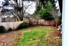 Back Yard 6709 SW Inlet